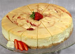 Harry's Famous Cheesecakes from Liberty Station in Bedford Virginia